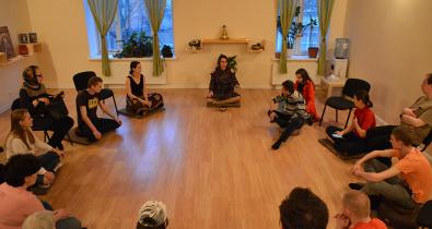 Заставка для - О секретах медитации узнали участники фонда «Лучшие друзья»