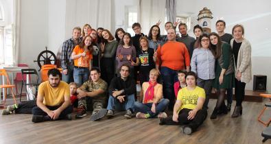 Заставка для - В полку прибыло: 10 волонтеров-новичков пополнили команду «Лучших друзей»