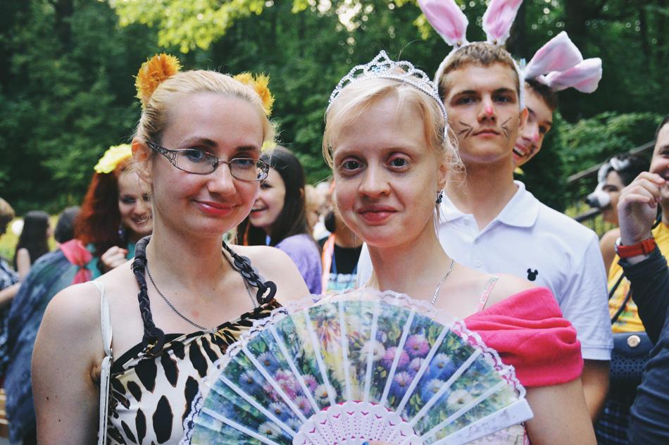 Марина с подругой Настей.