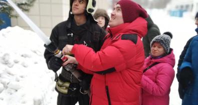 Заставка для - А вы мечтали стать пожарным в детстве?