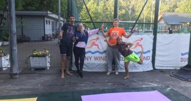 Заставка для - «Лови пас!»: «Лучшие друзья» снова играют в пляжный волейбол