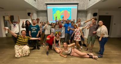 Заставка для - Экватор в стиле Just Dance