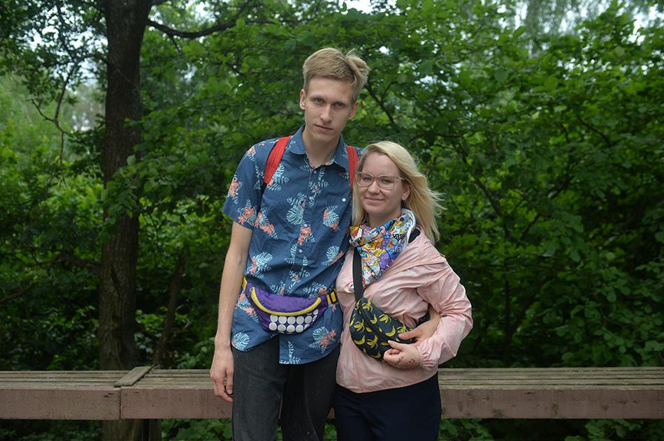Серёжа и Оля